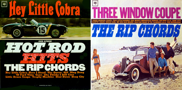 Rip Chords - 2 Album Covers